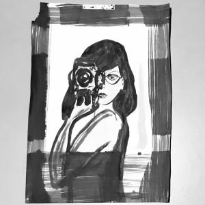Auto-portrait-Christine Jegaden